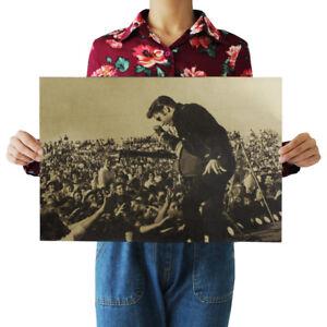 Elvis Presley Rock Music Poster Wall Art Print Interior Design Ideas Ebay