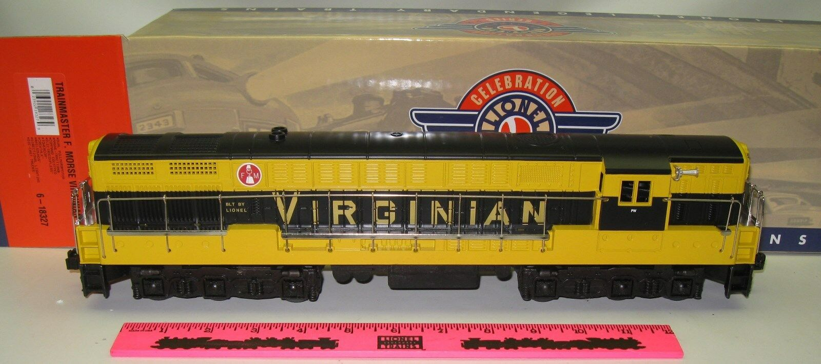 Lionel 6-18327 Trainmaster F. Morse Virginian