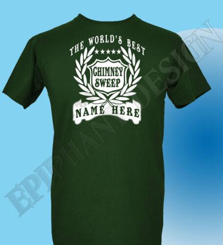 Chimney Sweep T-Shirt Personalised Add Name Great Gift Bespoke Coal Man Sweeper