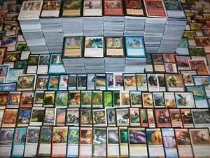 1000 MAGIC THE GATHERING MTG BULK RARES 1000 CARDS MTG RANDOM LOT BOOSTER BOX!
