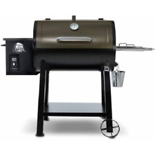 Pit Boss Pellet Grill Flame Smoker Wood-Fired BBQ Outdoor Cooking Backyard