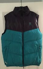 Authentic 10 Deep NYC Amsterdam Ave reversible down vest gothic grape Supreme