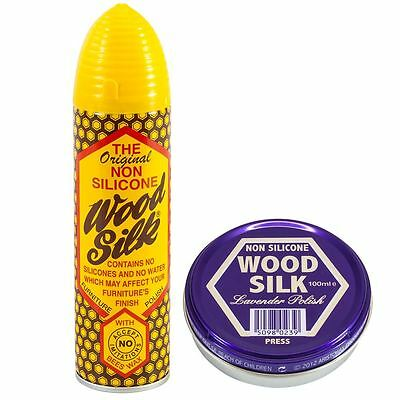 Wood Wax Furniture Polish Beeswax Cleaner Spray Paste Aristowax
