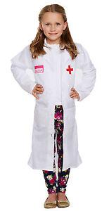 Image is loading Child-Boy-Girl-Doctors-Lab-Coat-World-Book-  sc 1 st  eBay & Child Boy Girl Doctors Lab Coat World Book Day Fancy Dress Costume ...