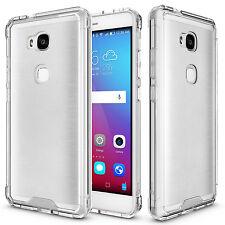 Clear Hybrid TPU Bumper Hard Back Phone Cover Case for Huawei Honor 5X