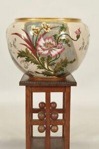 Fioriera-1900-Ceramica-Smaltata-Fiori