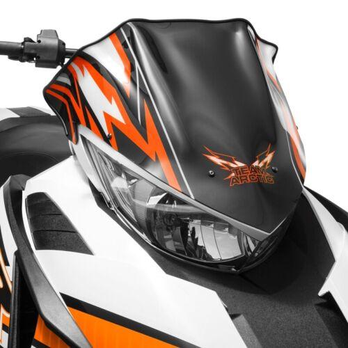 Orange 2012-2017 ZR F XF M 8000-6639-314 Arctic Cat Pride Low Windshield