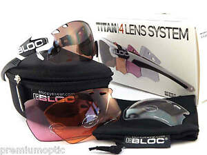 99a53a80387 Image is loading BLOC-interchangeable-TITAN-sports-Sunglasses -Polished-White-4-