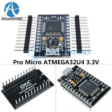 Pro Micro Atmega32u4 33v 8mhz Usb Controller Board With Bootloader For Arduino