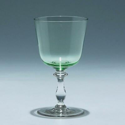 Weinglas MATHILDE mit Uranglaskelch um 1900