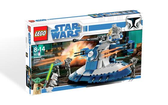 Nuevo  Lego Star Wars The Clone Wars Tanque De Asalto Blindado 8018
