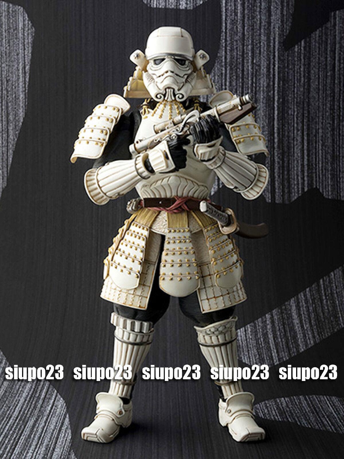 Bandai Mei Sho Movie Realization Star Wars Wars Wars Samurai General Stormtrooper Figure c32f1f