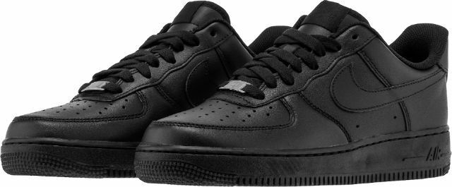 {315122-001} AIR FORCE 1 LOW MENS LIFESTYLE SHOE BLACK NEW