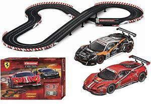 Carrera-Evolution-Ferrari-Trophy-Slot-Car-Racing-Race-Set-25230-NEW