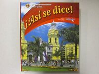 Asi Se Dice Glencoe Spanish 2 Teacher's Edition 2012 Glencoe 0076604284