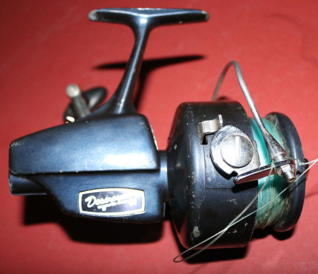 RARE vintage Olympic Destroyer 61 spinning  fishing reel...works perfect  online shopping sports