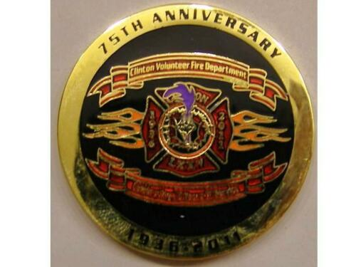 Fire Department Challenge Coin Clinton Maryland Vol