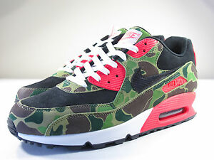 purchase cheap b8d5e 8ec76 Details about DS NIKE 2013 AIR MAX 90 ATMOS DUCK CAMO INFRARED 11 FLYKNIT 1  180 95 97 PLUS