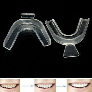 1-x-Teeth-Whitening-Mouth-Trays-Guard-Thermo-Gum-Shield-Tooth-Bleaching-Grinding