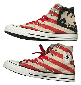 703d9ac1b19c Image is loading Converse-Chuck-Taylor-Americana-Eagle-Stripes-Hi-Sneakers-