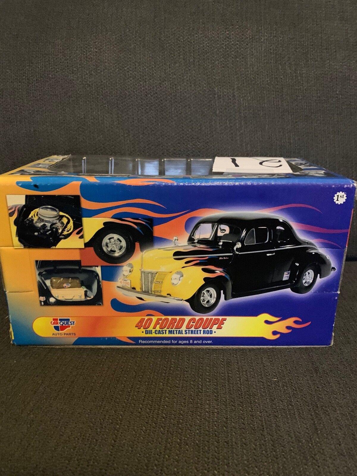 Car Quest 40 Ford Coupe Die Cast Metal Street Rod  parte ; 4th en serie