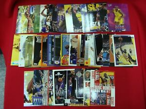 SHAQUILLE-034-SHAQ-034-O-039-NEAL-LA-LAKERS-37-CARD-LOT-ALL-DIFFERENT-w-PREMIUMS-L-K