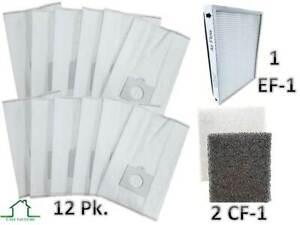 Kenmore-Canister-Vacuum-50558-5055-C-Q-12-Bags-1-EF1-amp-2-CF1-Filter-Bundle