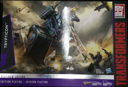 Transformers PLATINUM EDITION TRYPTICON HASBRO G1 REISSUE FIGURE BRAND NEW SALE