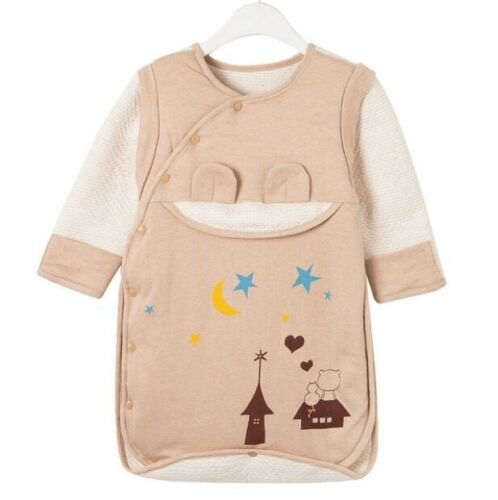 NEW//TAGS Baby Sleeping Bag Warm Cosy with Mitts detachable//removable Sleeves