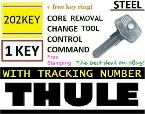 THULE Control Key Core Removal Tool Roof Rack Lock Change D1251 8007835 8531251