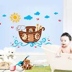 Cartoon zoo animal decor Nursery Kids bedroom decor Wall sticker baby room decal