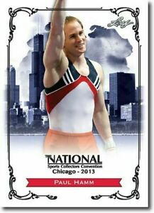 PAUL-HAMM-2013-LEAF-NATIONAL-EXCLUSIVE-COLLECTORS-PROMO-CARD