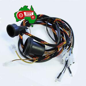 tractor wiring harness massey ferguson 35 3 cylinder 135 148 diesel ebay