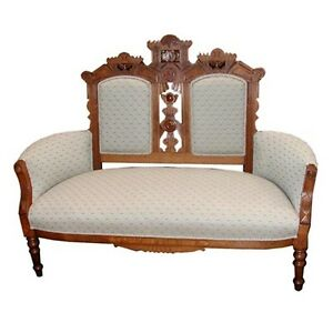 Victorian-Eastlake-Antique-Sofa-1800-1899-3011