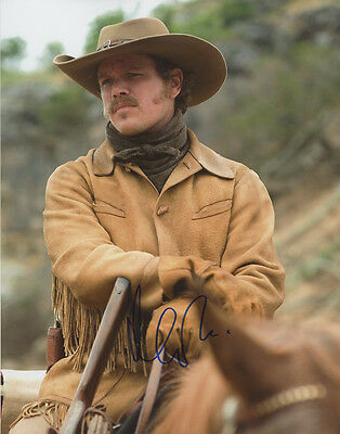 Movies Entertainment Memorabilia Spirited Matt Damon Signed Autographed 11x14 True Grit Laboeuf Photo Good For Antipyretic And Throat Soother