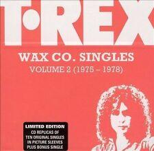 T. Rex Wax Co. Singles, Vol. 2 (1975-1978) by T. Rex (CD, Oct-2002, 11 Discs)