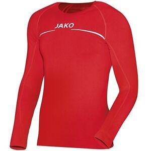 on sale 1a2a5 21dd5 Details zu JAKO Thermo-Shirt Funktionsshirt rot S M L XL XXL  Funktionsunterwäsche langarm