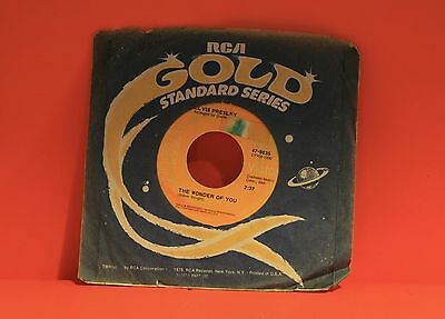 """ELVIS PRESLEY - THE WONDER OF YOU / MAMA LIKED THE ROSES - 7"""" SINGLE 45 S   eBay"""
