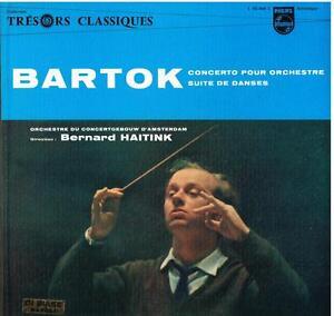 Bartok: Konzert Für Orchester / Bernard Haitink, Concertgebouw - LP