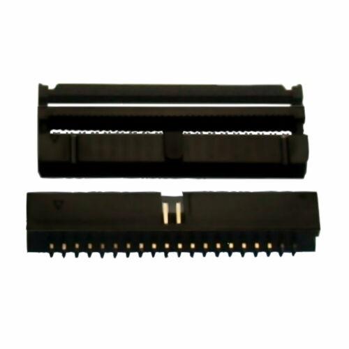 Zugentlastung Stecker 12 x IDC-Steckersystem 40-polig Buchse