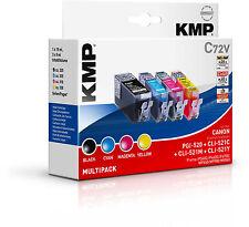 Original KMP Vorteilspack C72V für Canon PGI-520BK CLI-521 C M Y iP 3600 4600