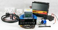 Full Camper/Motorhome Electrical Wiring Conversion Kit Split-Charge Hook-up 12V