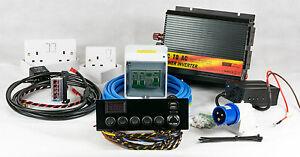 full camper/motorhome electrical wiring conversion kit ... 7 pin trailer wiring kit hook wiring kit