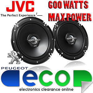 Ford Fiesta 2008-2014 JVC 16cm 6.5 Inch 600 Watts 2 Way Front Door Car Speakers