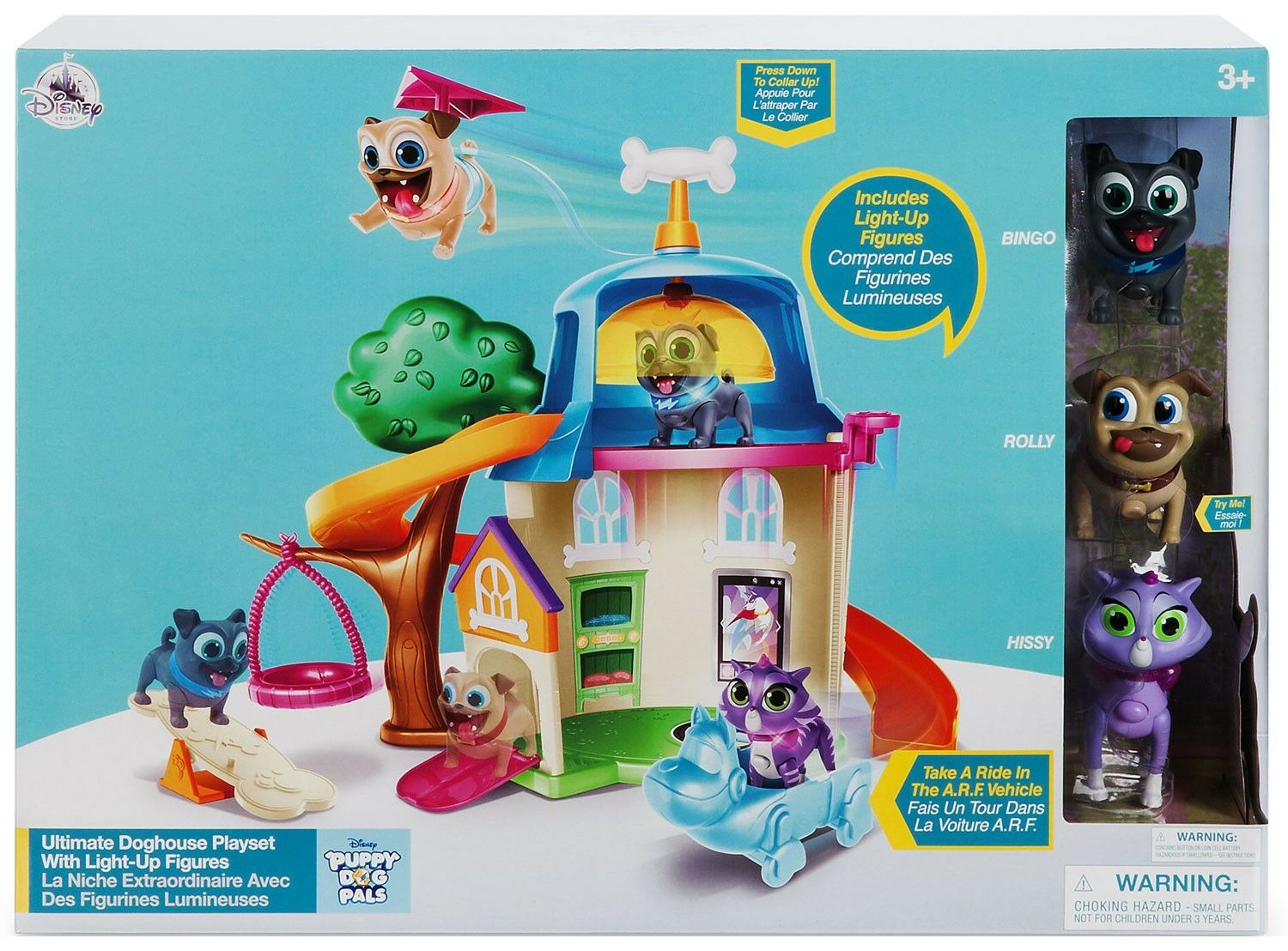 Junior Puppy Dog Pals Ultimate Doghouse Exclusive Playset