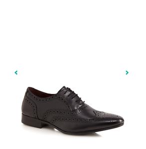 11 Uomini scarpe Black Oxford Taglia Belgravia Brogue Red Herring Leather smart nuovo nzHw1qxnZW