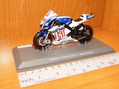 YAMAHA YZR-M1 2012 JORGE LORENZO 1//18 MOTO-GP ENEOS #99