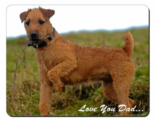 Lakeland Terrier 'Love You Dad' Computer Mouse Mat Christmas Gift Idea, DAD73M