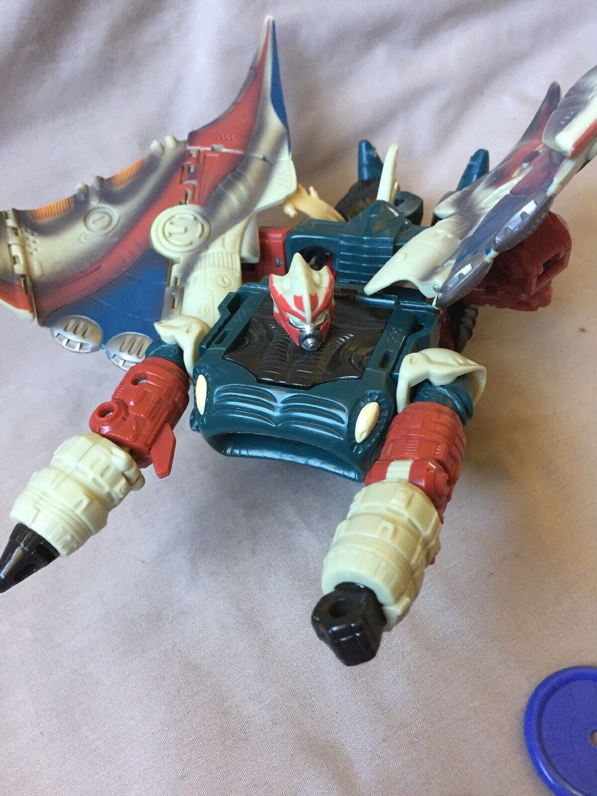 Depthcharge TRANSFORMERS TOY Carbot With Disks Ultra Class 2004 Universe