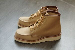 RED-WING-3376-6-039-039-Moc-Toe-Sand-Mohave-shoes-S-9B-USA-6-5-UK-40-EU-26-cm-BNIB